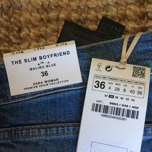 4257c99e Zara Jeans - Zara Slim Boyfriend Jeans